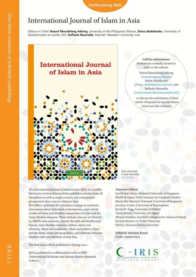 International Journal of Islam in Asia