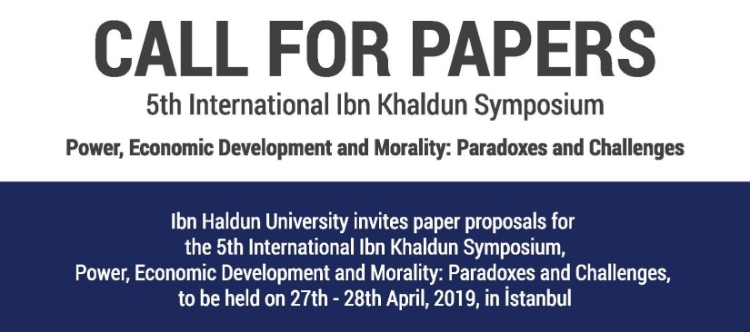 Call for Papers: 5th International Ibn Khaldun Symposium