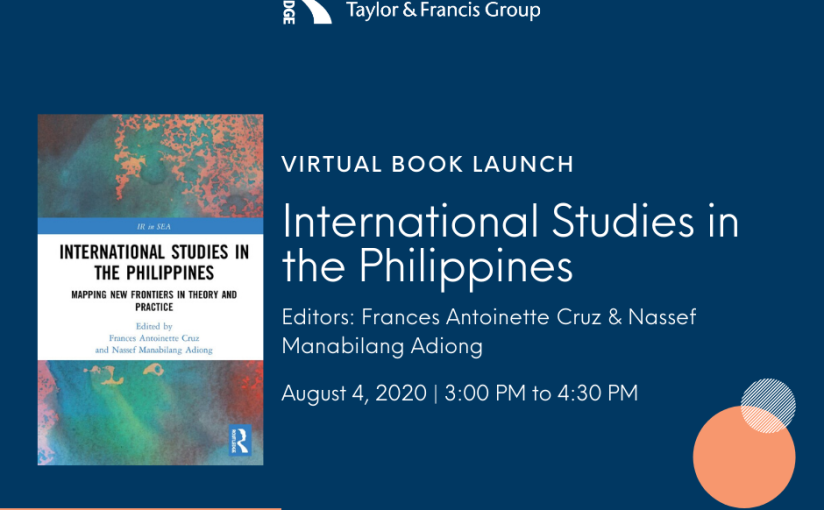 Routledge Virtual Book Launch: International Studies in the Philippines